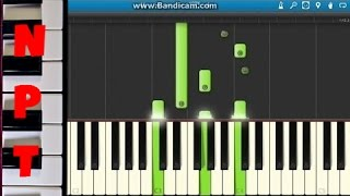 David Guetta Ft. Skylar Grey Shot Me Down Piano Tutorial