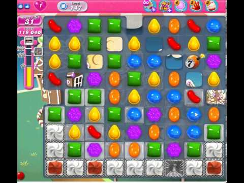 candy crush saga level 147 - YouTube