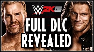 WWE 2K15 FULL DLC Revealed Showcase Rivalries, Legends