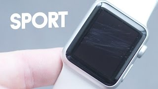My Apple Watch Sport is scratched - Duration: 5:30.