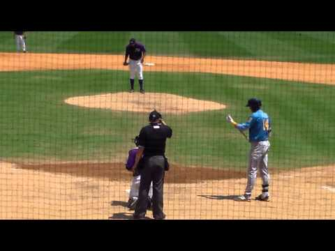 Winston-Salem LHP Sean Hagan vs. Myrtle Beach 3B Joey Gallo, 5.7.14