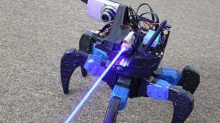 Homemade Laser Gun FPV Drone Bot with Camera!!!