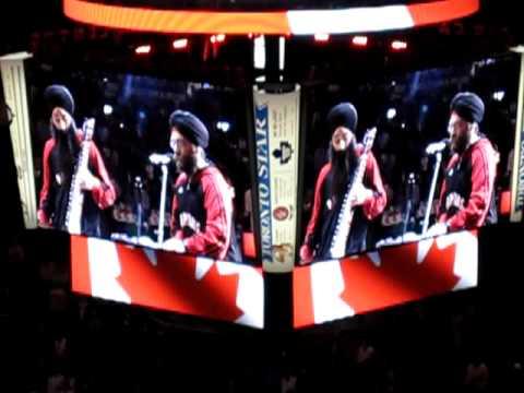 Sikhs Sing National Anthems at Raptors Vaisakhi Game