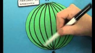Como diferenciar entre paralelos y meridianos