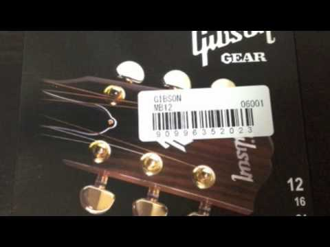 Acoustic Guitar Strings comparison