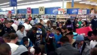 Walmart Black Friday Fight 2013