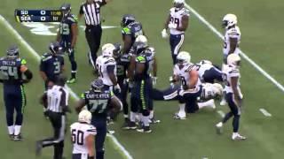 Seahawks VS Chargers Preseason 2014 HIGHLIGHTS