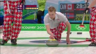 Men's Curling Full Gold Medal Match CAN V NOR
