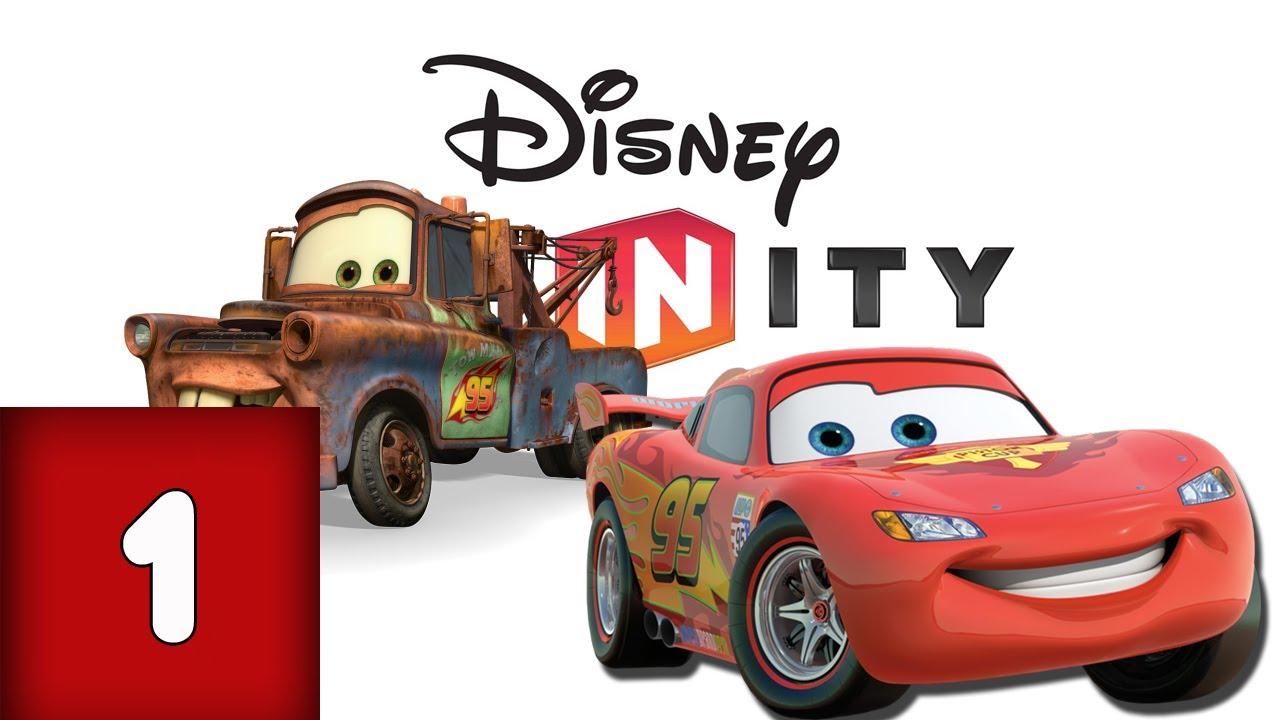 Disney Infinity - Cars Playset Walkthrough Part 1 ...