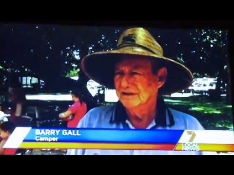 GALL BOYS - 7 NEWS '2011 HOLIDAY SEASON - NOOSA QUEENSLAND' - CARAVAN HOLIDAYS