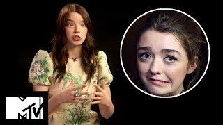 X-Men: The New Mutants' Anya Taylor Joy Talks Filming With Maisie Williams | MTV Movies