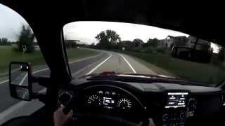 2014 Ford F-350 Super Duty WR TV POV Evening Drive