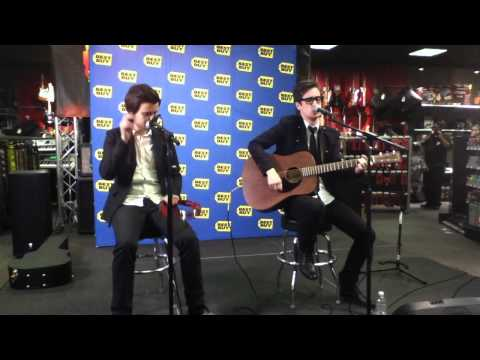 Panic! At The Disco - Full Acoustic Set - Best Buy on Union Square
