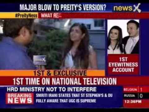 Preity Zinta-Ness Wadia case:Key eyewitnesses speak in public for 1st time