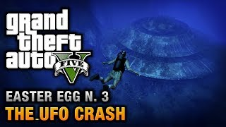 GTA 5 Easter Egg #3 The UFO Crash