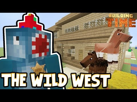 Minecraft Xbox - THE WILD WEST!! - Building Time! [#65]