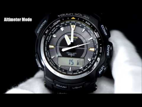 casio solar watch instructions