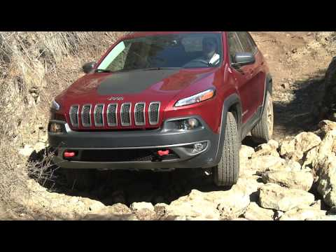 Jeep Cherokee Trail Hawk Off-road footage