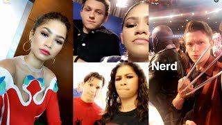 Zendaya & Tom Holland Best Snapchat/Instagram Moments #TomDaya