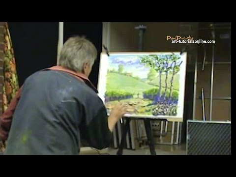 How to paint an 'Impressionist' Style Painting