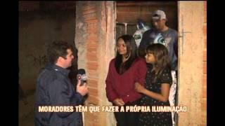 Falta de ilumina��o p�blica deixa moradores de Santa Luzia no escuro