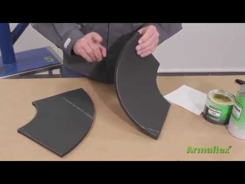 Armacell - Armaflex Sheet Two part bend 90 Application Video