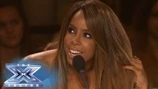 Finale: Kelly's Eyes On The Guys THE X FACTOR USA 2013