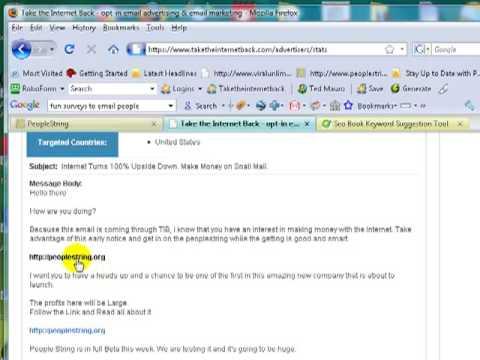 PeopleString Training. Internet Marketing. Email Marketing. Writing Headlines.