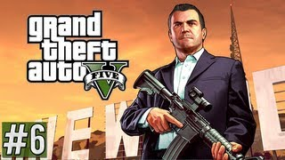Grand Theft Auto 5 Walkthrough Part 6 - (GTA V Gameplay)