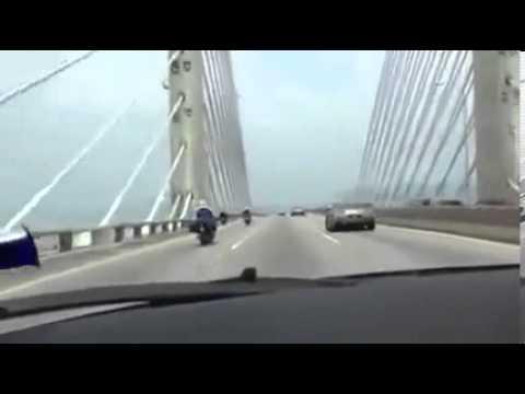 Super car@ Penang Bridge, Malaysia.