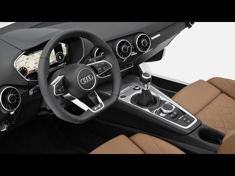 NEW 2015 Audi TT interior World premiere at CES 2014