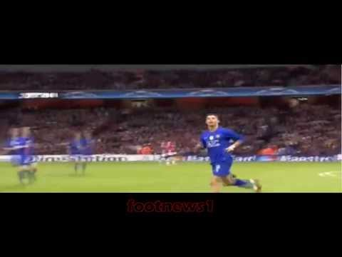 Cristiano Ronaldo Fast sprint and  goal vs Arsenal
