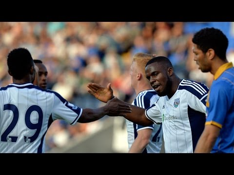 MATCH HIGHLIGHTS: Shrewsbury Town 1 West Bromwich Albion 2