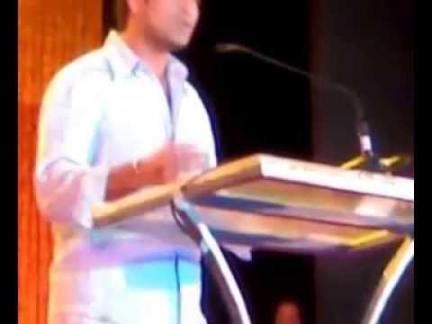 Sachin Tendulkar in MNS sabhaa in marathi speech