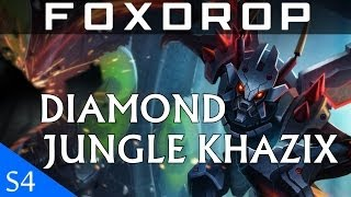 [Season 4] Diamond Jungle Kha'zix Gameplay Commentary