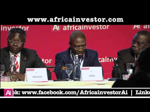 Jean-Louis Ekra, President, African Export-Import Bank, Ai CEO Institutional Investment Summit 2013
