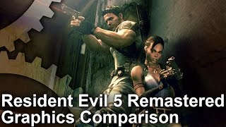 Resident Evil 5 - PS4/Xbox One vs PC/Xbox 360 Graphics Comparison