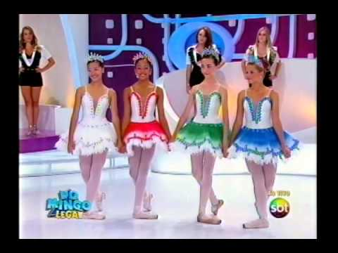 Domingo Legal - Portiolli realiza sonho de bailarinas - Parte 2