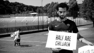 Totti, Salah and Dzeko highlight refugee crisis in 'Football Cares' video