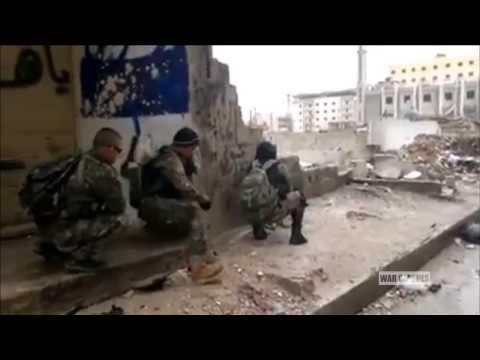 Shia Militias On The Battlefield In Syria | Syrian Civil War