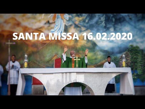 Santa Missa | 16.02.2020 | Padre José Sometti | ANSPAZ