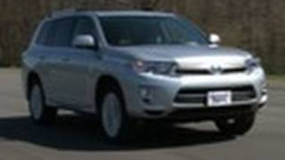 Toyota Highlander: Consumer Reports 2012 Top Pick Family SUV videos