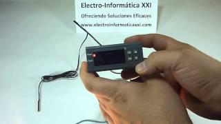 Conectar Y Programar Termostato Digital Programable MH1210A para