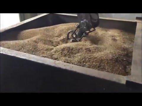 Очистка люцерны