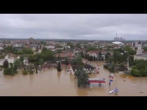 Flooding in Serbia, Bosnia & Croatia