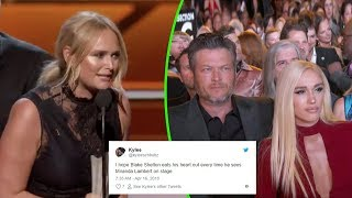 Broken Heart: Miranda Lambert mention Blake Shelton In Her ACM Awards Acceptance Speech