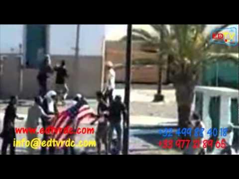VOICI COMMENT LES SALAFISTES ONT ATTANQUES L'AMBASSADE AMERICAIN EN TUNIS