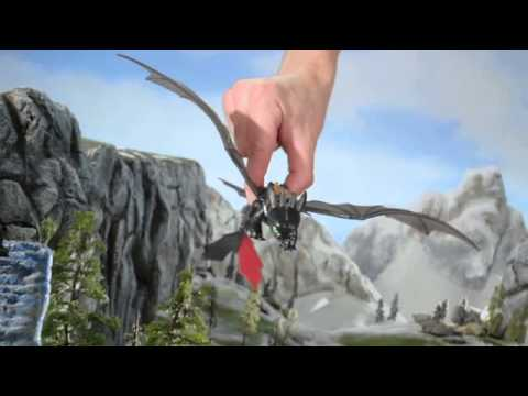 How to Train Your Dragon 2 Bewilderbeast Final Battle Set & Toothless Power Dragon Toy Commercial