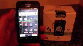 ZTE Score For Cricket Wireless Review MUVE Music Enabled