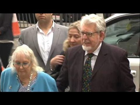 Rolf Harris In Court On Child Sex Charges 23/09/2013